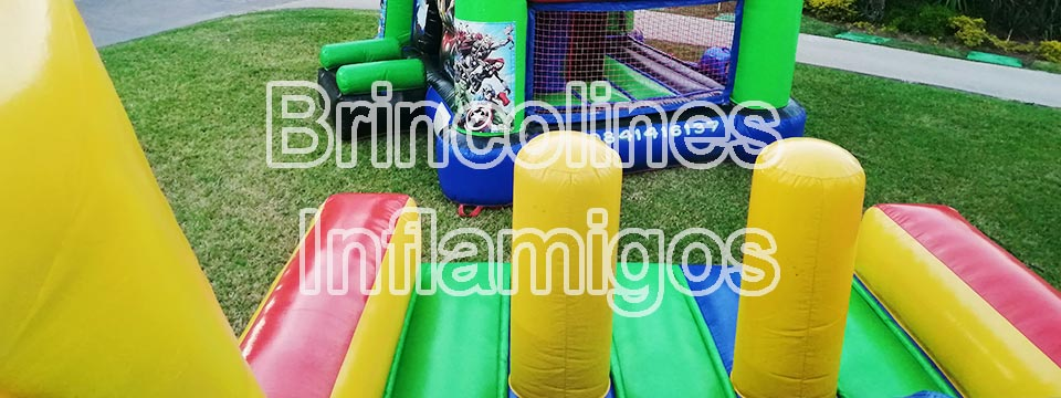 Banner bienvenida brincolines inflables
